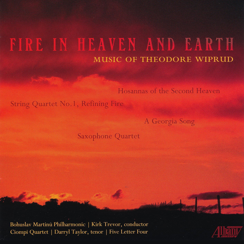 fire in heaven and earth theodore wiprud